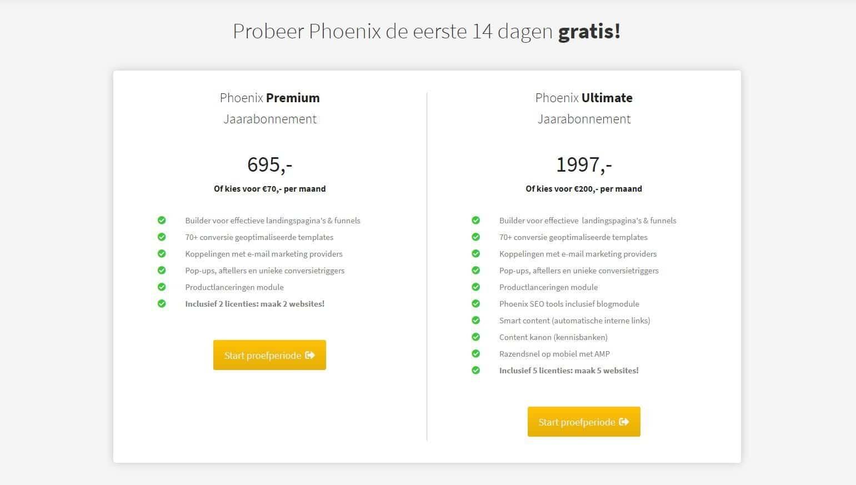 Phoenix-prijs