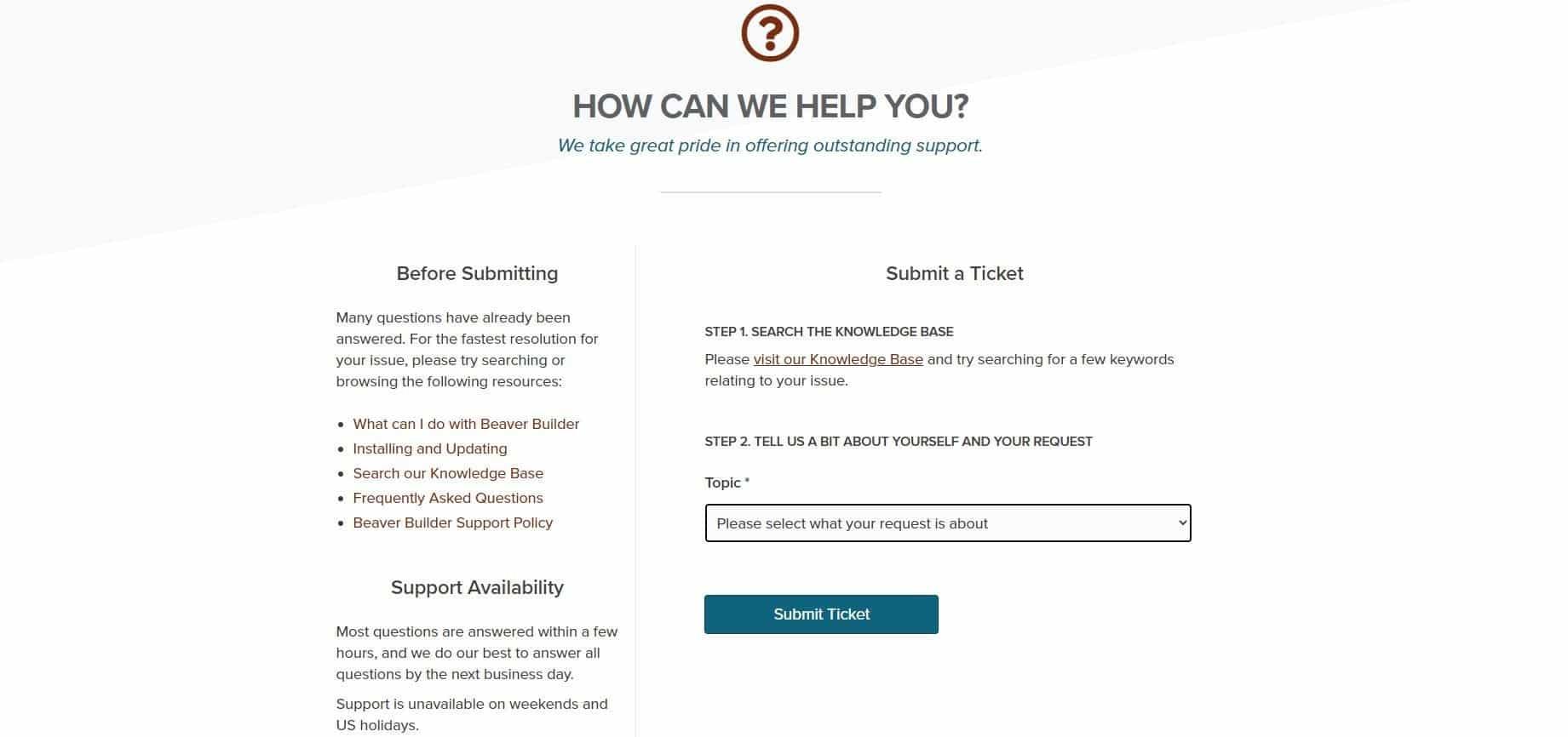 beaver-builder-klantenservice