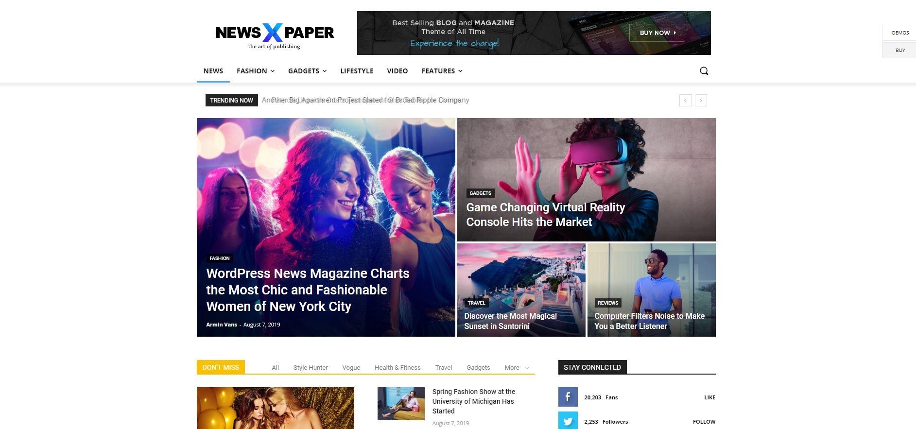 newspaper-beste-wordpress-theme-bloggers