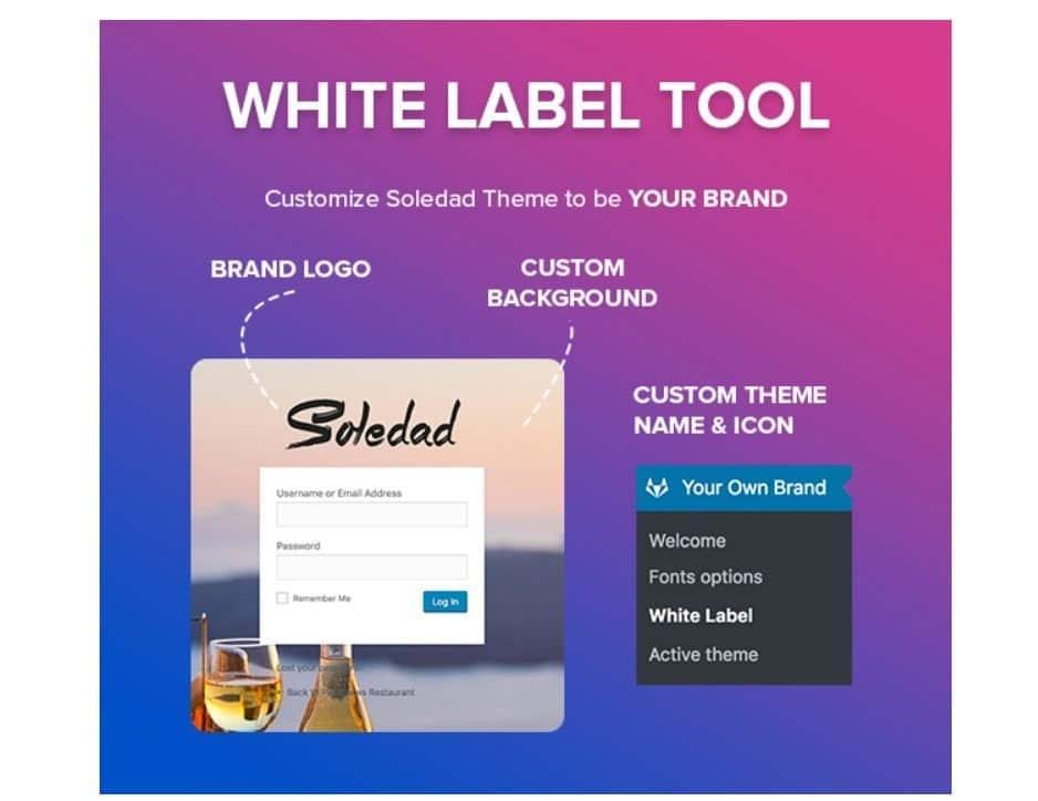 Soledad-theme-white-label