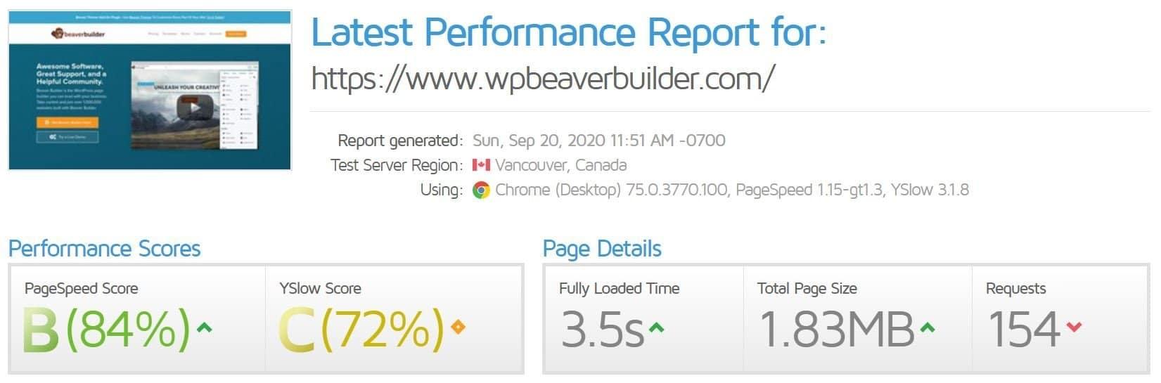Elementor-vs-beaver-builder-beaver-speed