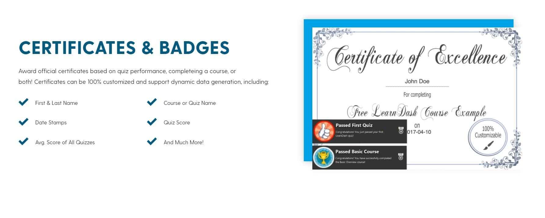 LearnDash-Certificaat
