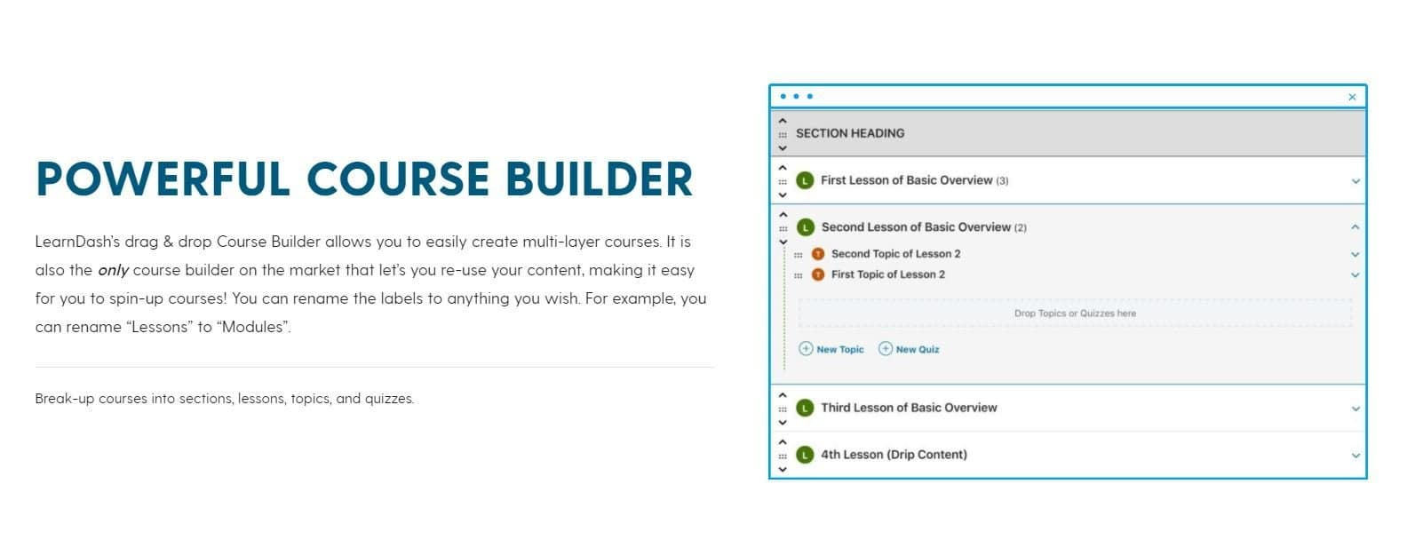 LearnDash-Course-builder
