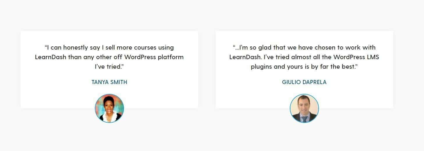LearnDash-ervaringen