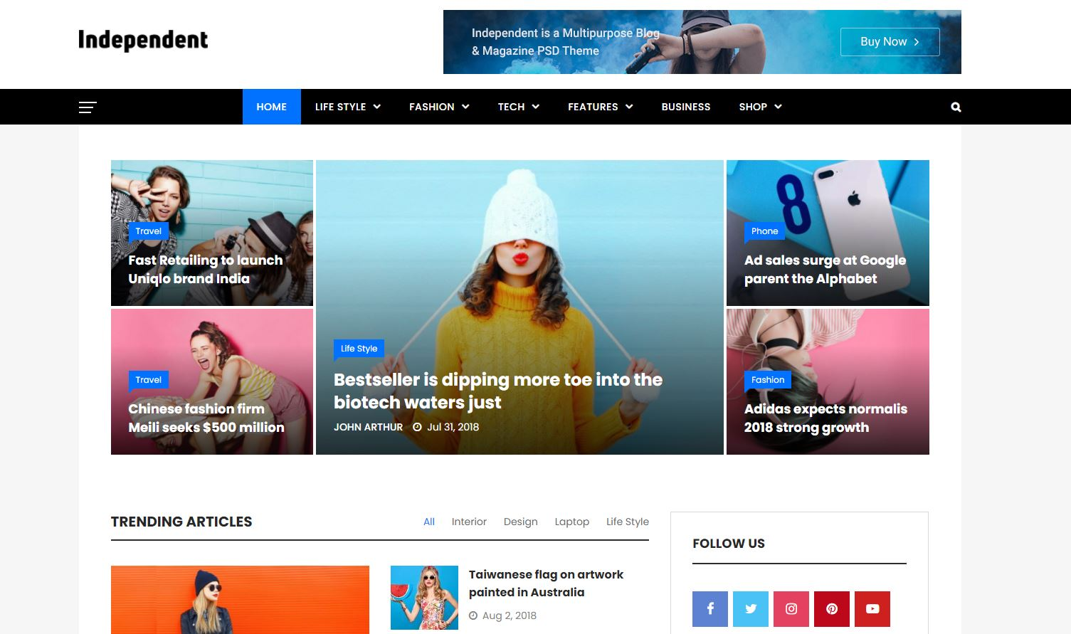 beste-wordpress-magazine-themes-independent