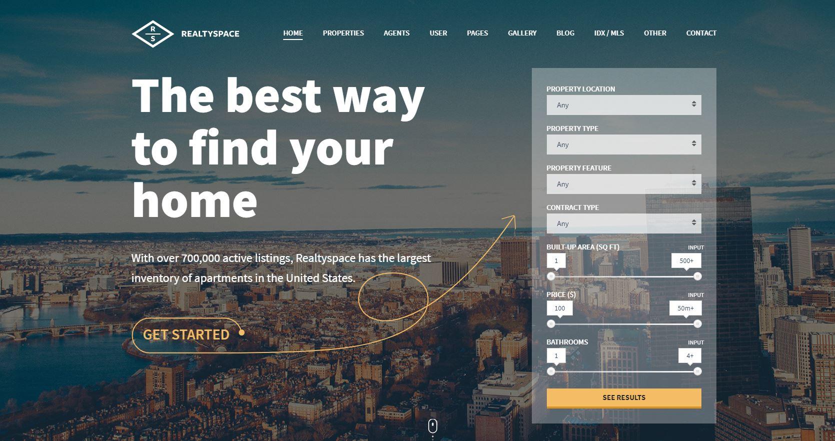 beste-wordpress-makelaar-thema's-realtyspace