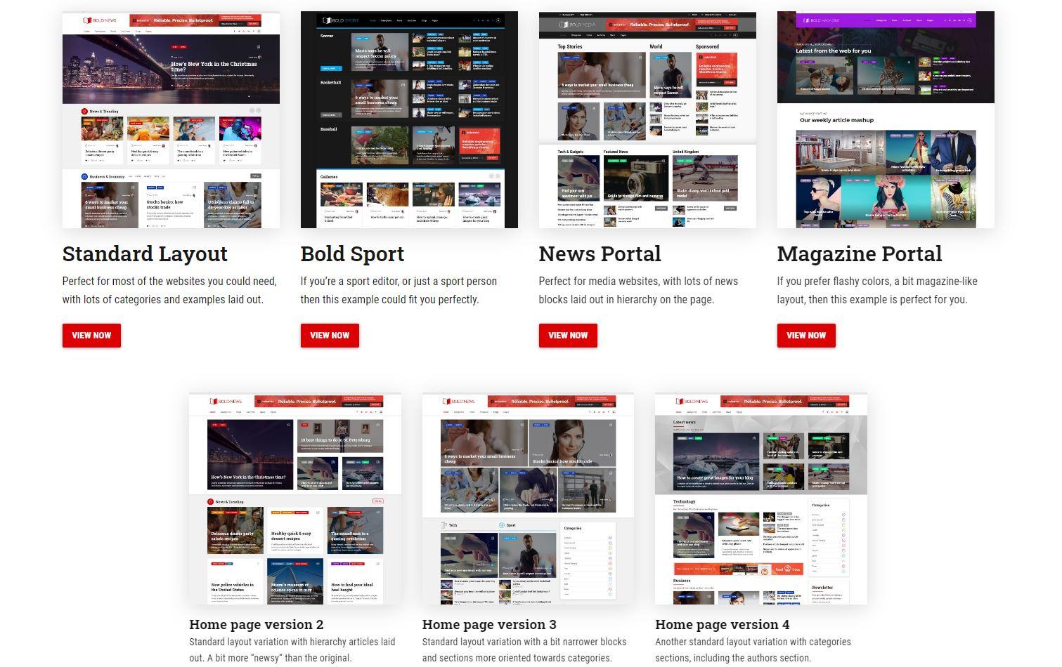 beste-wordpress-nieuws-thema's-bold-news