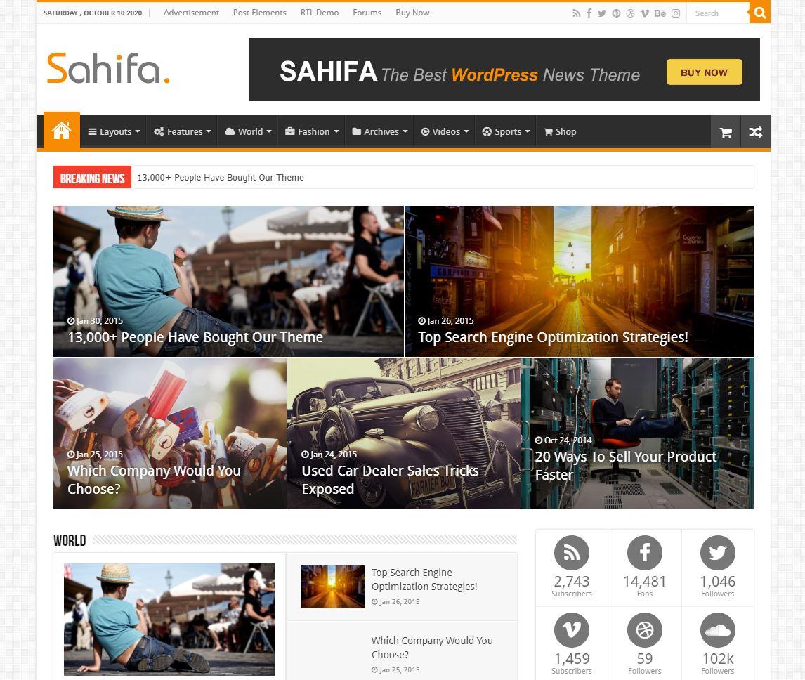 beste-wordpress-nieuws-theme-sahifa