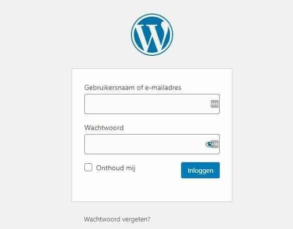 inloggen-bij-wordpress