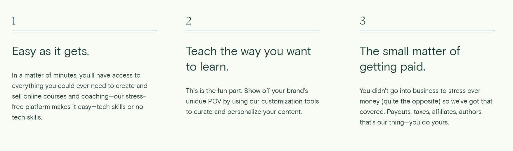 Teachable-cursus-maken