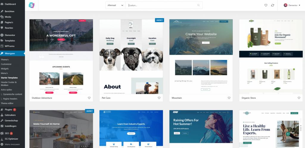 Zelf-een-eigen-WordPress-website-bouwen-starter-templates