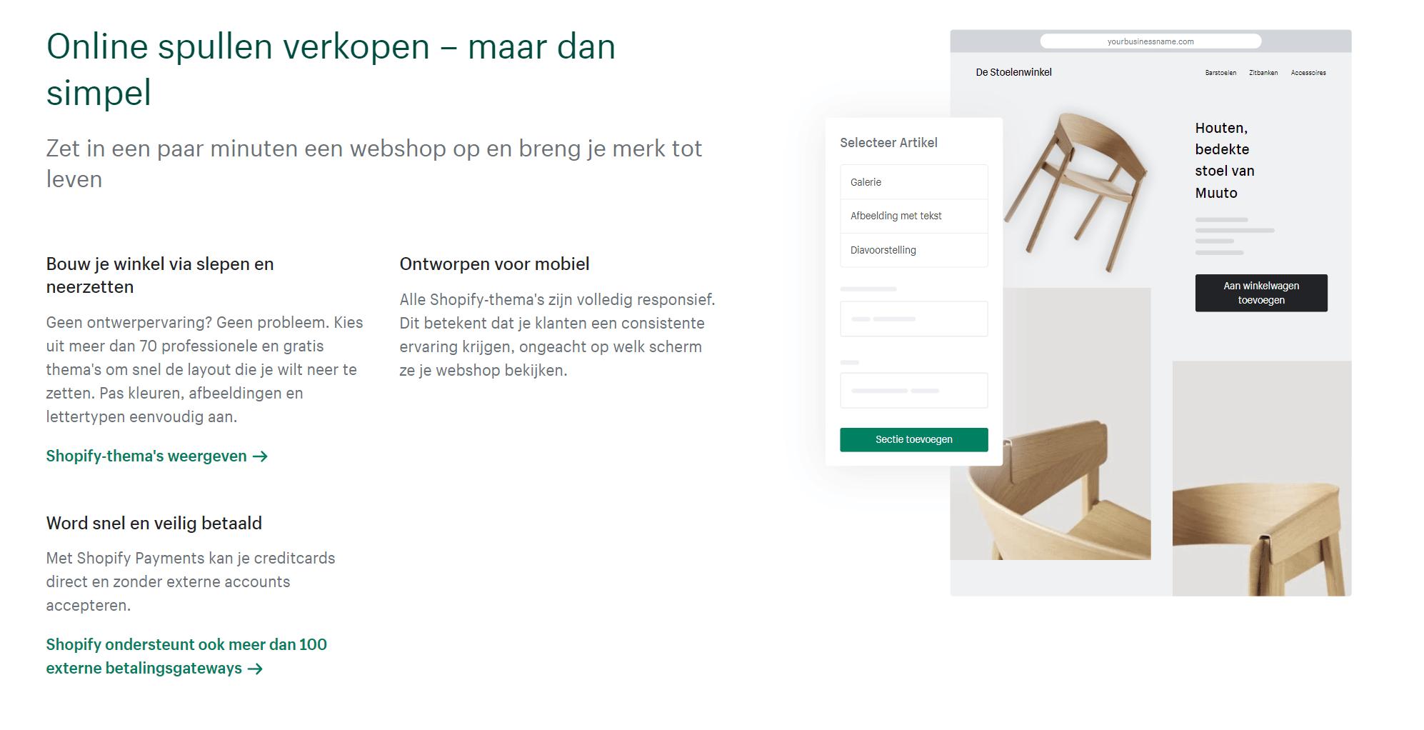 Shopify-webshop-bouwen