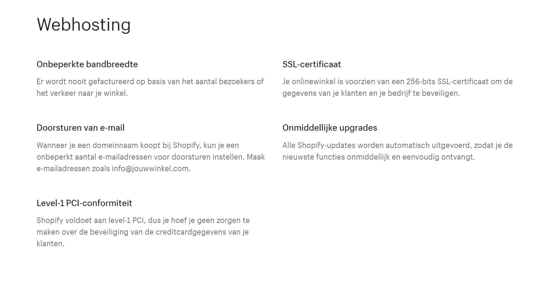 Shopify-webshop-webhosting