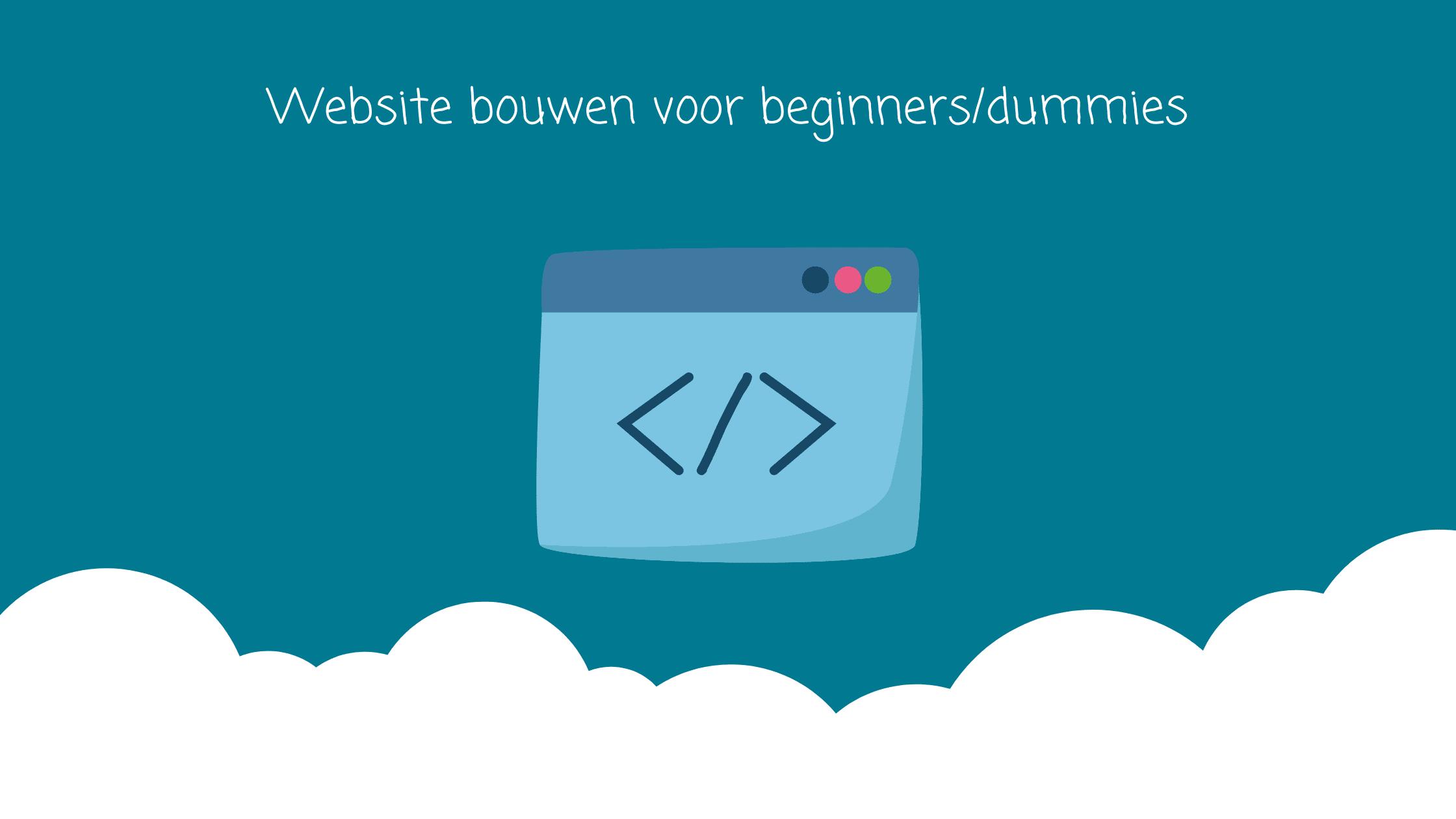 website-bouwen-voor-beginners-dummies