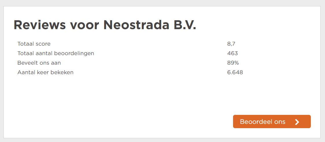 Neostrada-hosting-ervaringen