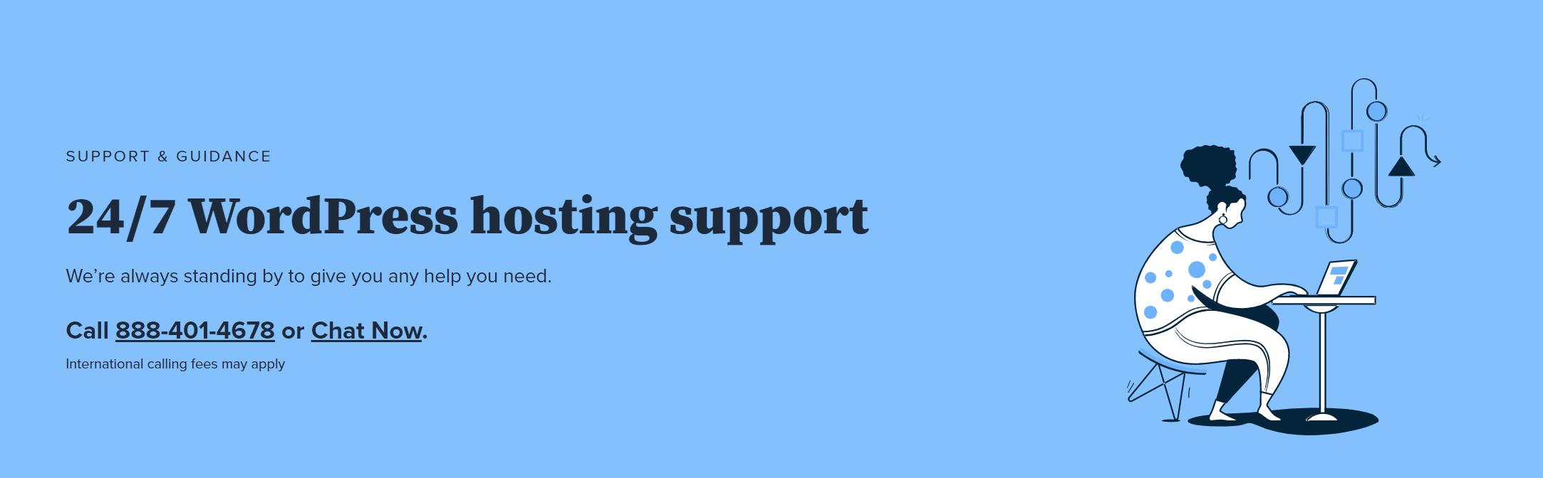 Bluehost-wordpress-support