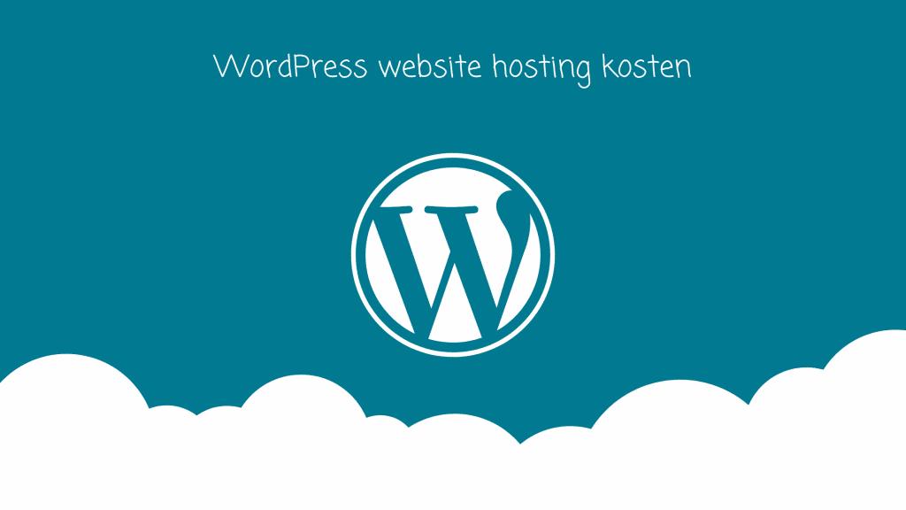 WordPress-hosting-kosten-website