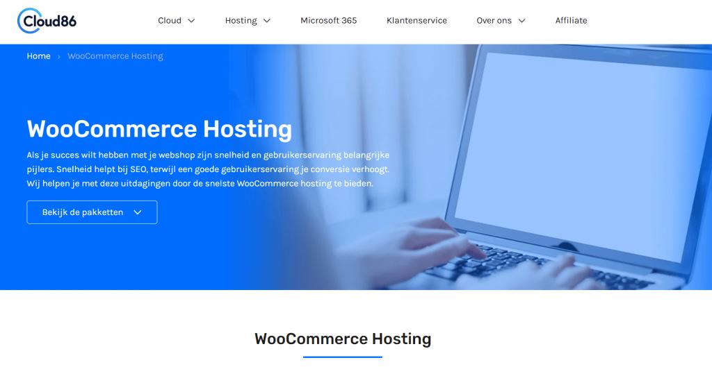 Beste-woocommerce-hosting-nederland-cloud86