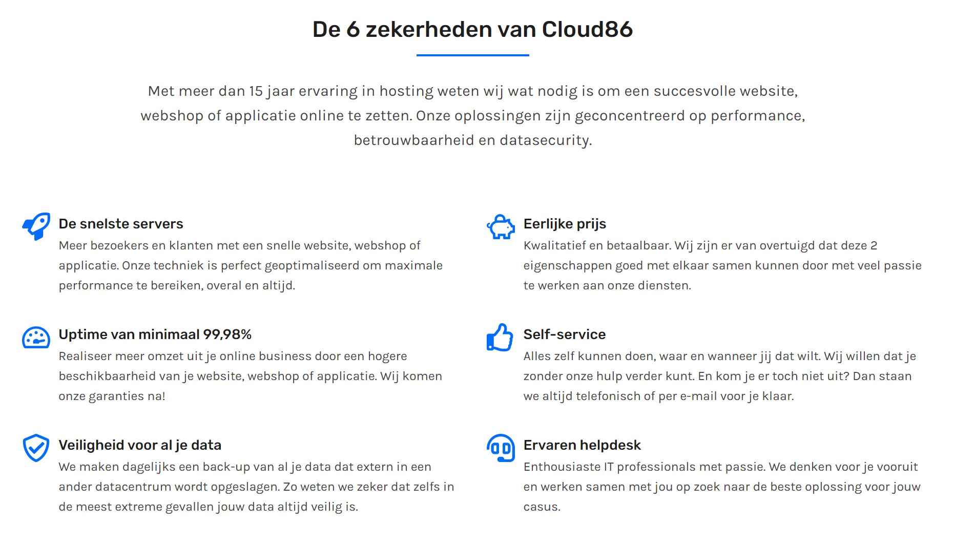 Cloud86-review-nederland