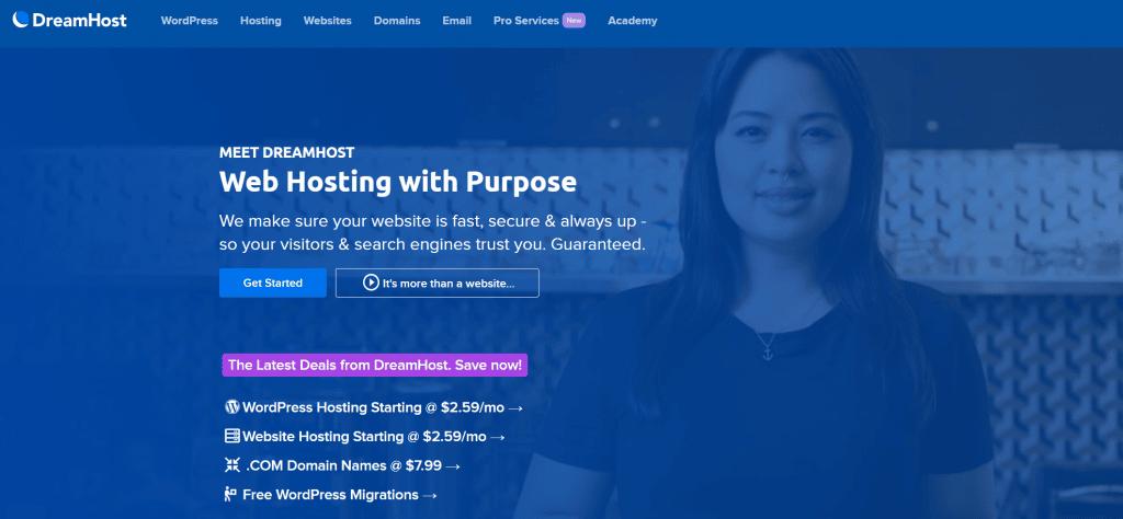Dreamhost-wordpress-hosting-review