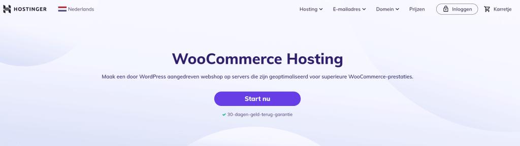 Hostinger-woocommerce-hosting-nederland