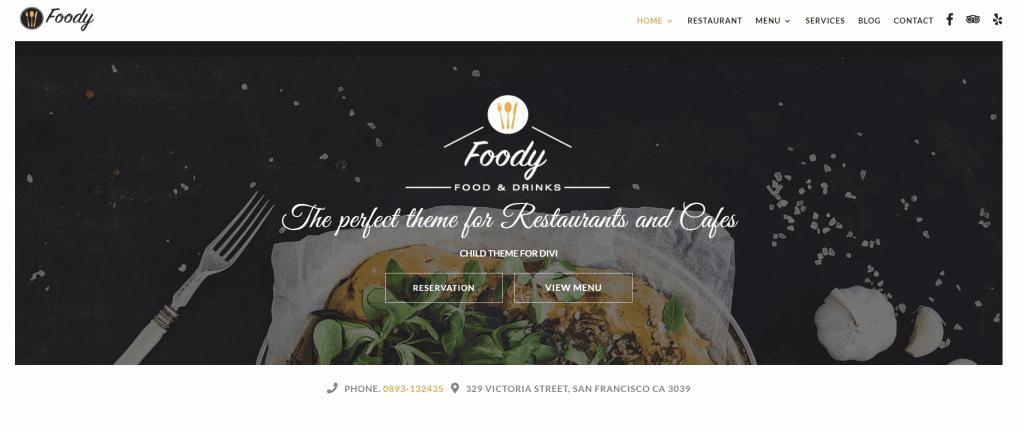 Divi-restaurant-thema-foody