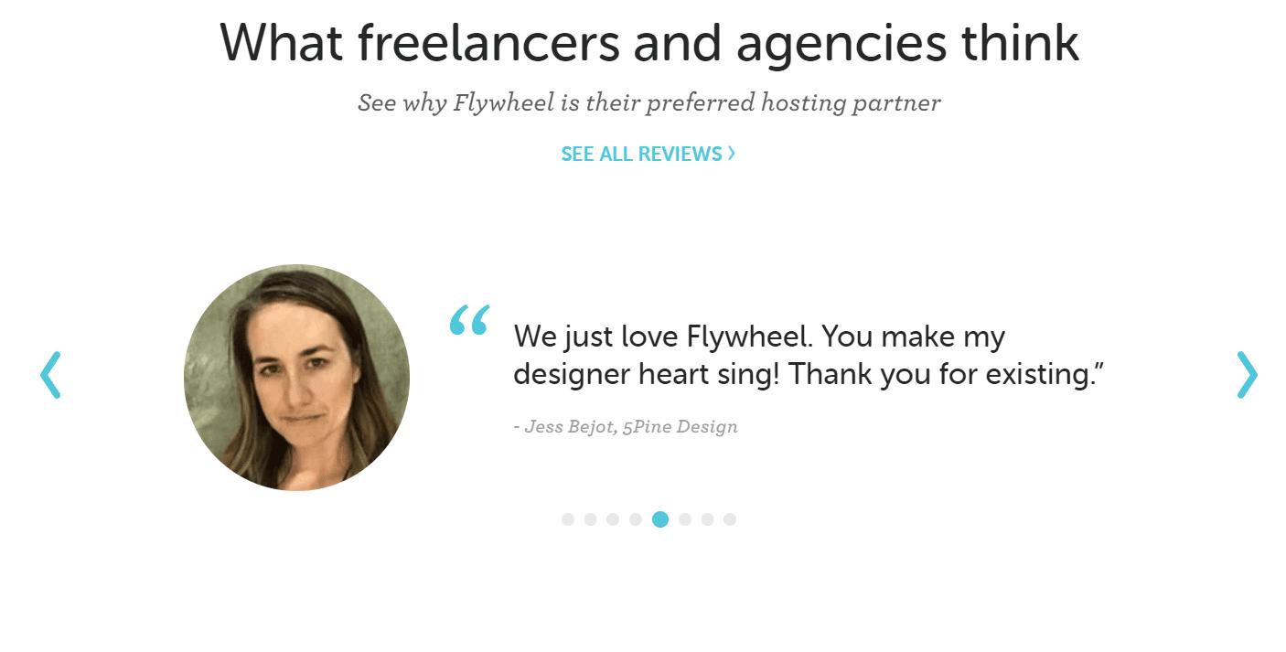 Flywheel-hosting-ervaringen