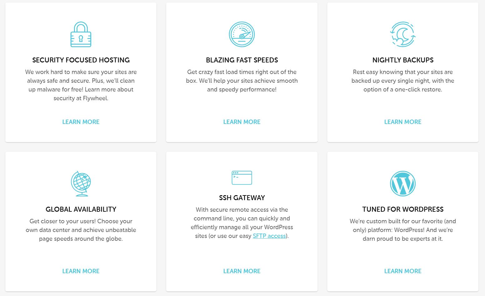 Flywheel-hosting-specs