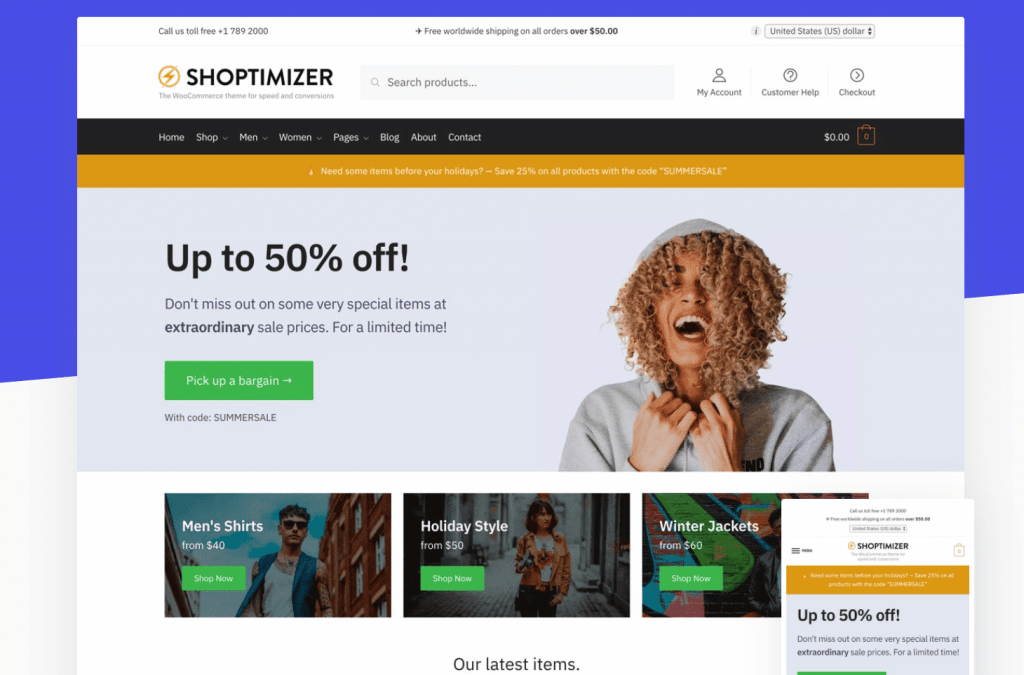 Shoptimizer-elementor-theme