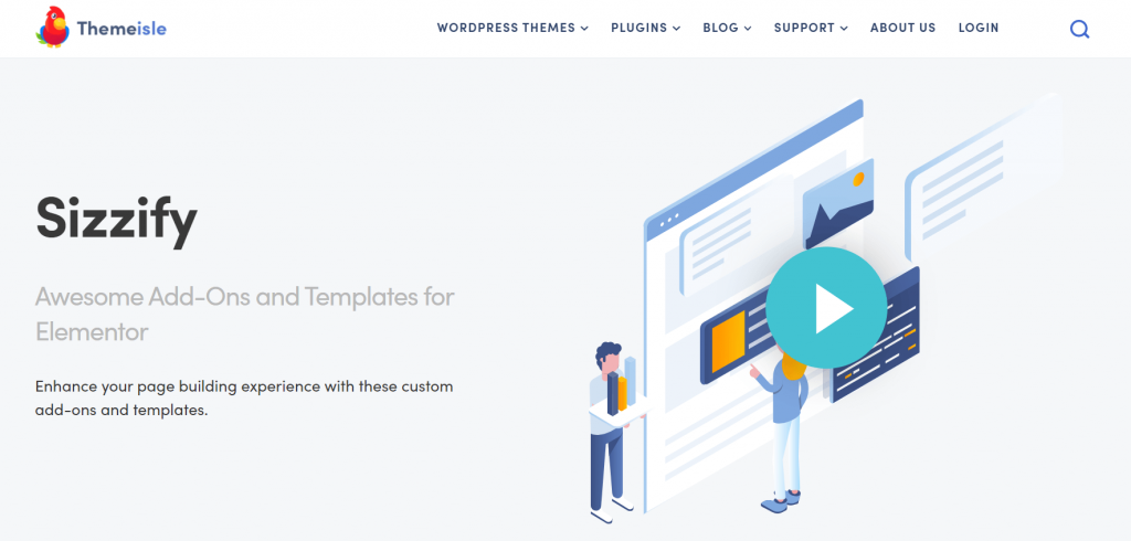 Sizzify-elementor-pro-templates