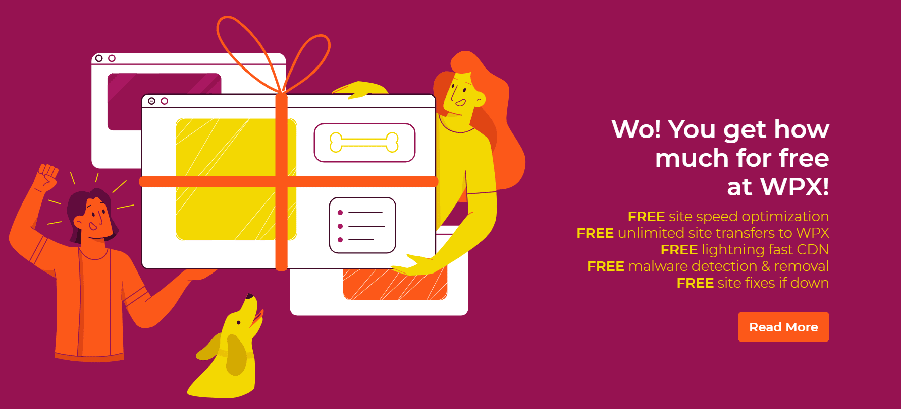 WPX-hosting-gratis-extra's