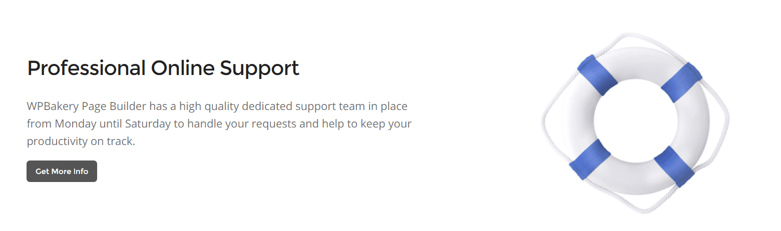 WPBakery-support