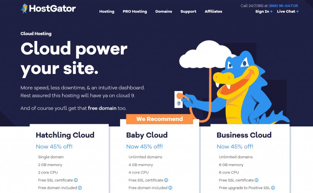 Beste-cloud-hosting-vergelijken-hostgator