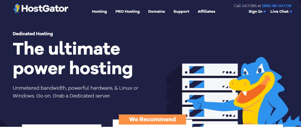 Beste-dedicated-hosting-vergelijken-hostgator