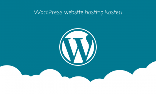 WordPress-hosting-kosten-website