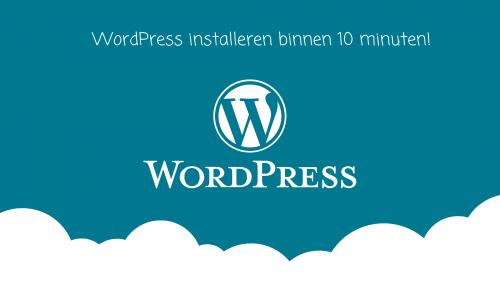 WordPress-installeren-binnen-10-minuten